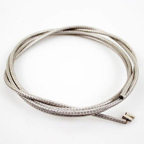 Cortina buiten/remkabel silver braid