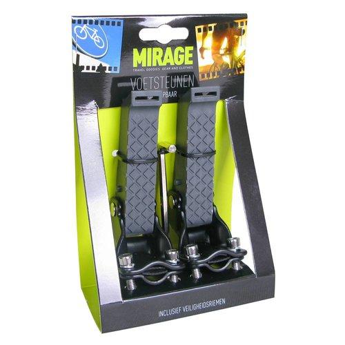 Mirage voetrust achtervork opklapbaar