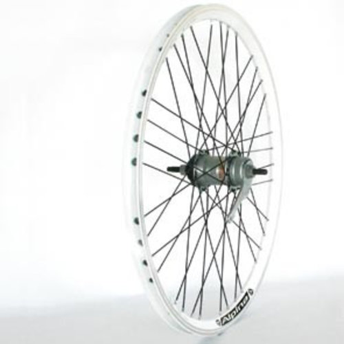 Alpina achterwiel 24 3v ral 9010 wit
