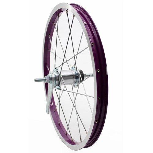 Alpina achterwiel 18 purple-silver