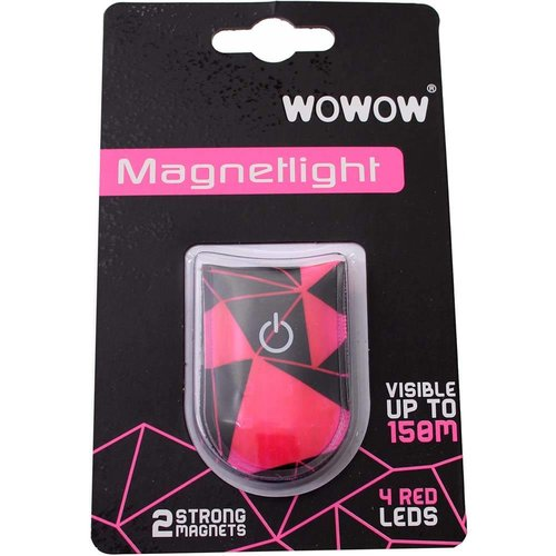 Wowow Magnetlight Urban rz WRM Rode LED