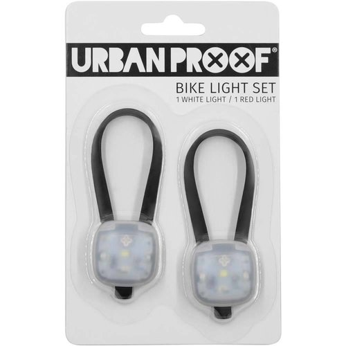 Urban Proof SMD LED fietslampjes set Zwart