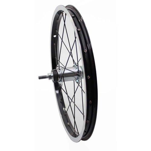 Alpina achterwiel 18 black-black