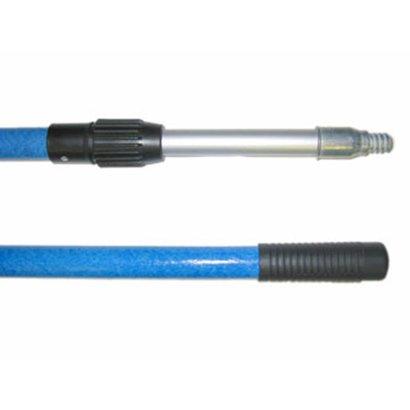 Teleskopstiel 2 x 1,50 m PRO blau