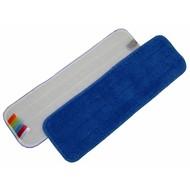 Mikrofaserbezug 60 cm blau mit Klettrücken und Farbkodierung