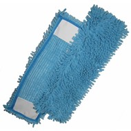 Mop Micro-Fibre 44 x 13 cm ''Rasta Pocket'' bleu
