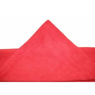 Pack of 5 x Microfibre clothTricot Laser Auto 40 x 40 cm red