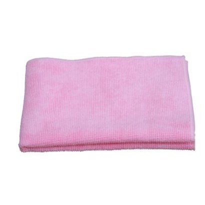 """Microfibre cloth """"Tricot Luxe"""" 60 x 70 cm pink"""