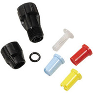 Fan jet nozzle kit polyethylene