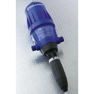 Dosing pump adjustable from 0,2 to 2%