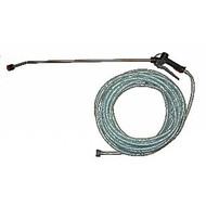 Kit de pulvérisation avec 20 m tuyau et lance inox de 90 cm