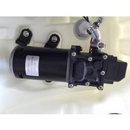 Membranpumpe mit integriertem Druckregelungsschalter