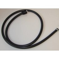 Hose 150 cm with nut + clamp