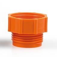 Adaptor for hand pump - orange