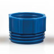 Adaptateur pour pompe vide fût bleu foncé