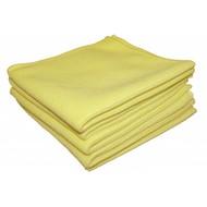Zakje 5 x Tricot Luxe 32 x 30 cm geel