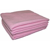 Bag 5 x Tricot Luxe 40 x 40 pink