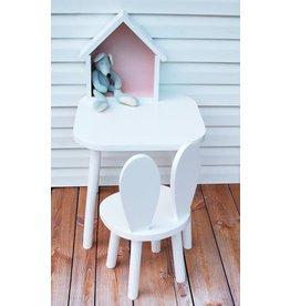 Bambooko Kinderstoel Bunny White