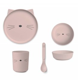 Liewood - Bamboo Set 'Cat Rose'