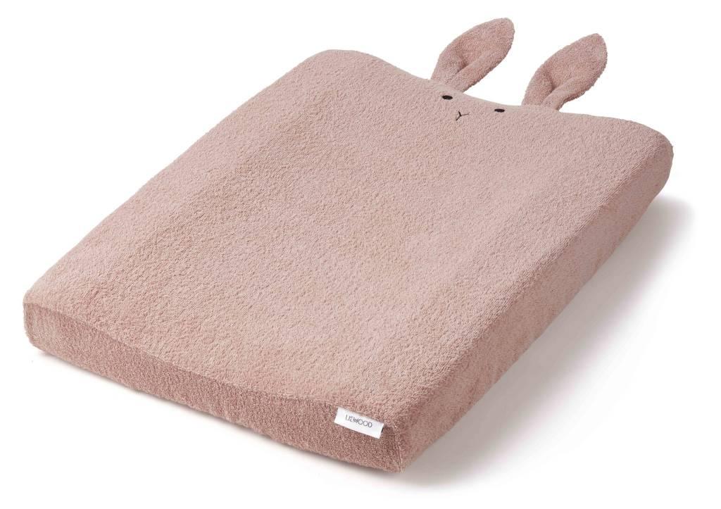 Kussen Oud Roze : Liewood hoes voor verzorgingskussen rabbit oudroze hip hoi