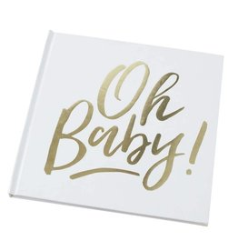 Ginger Ray Gastenboek Oh Baby