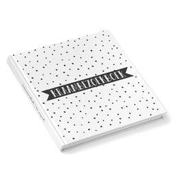 Kidooz Kidooz - Kraambezoekboek 'Black Dots'