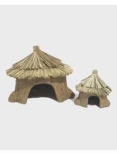 Huisje met strooien dakje