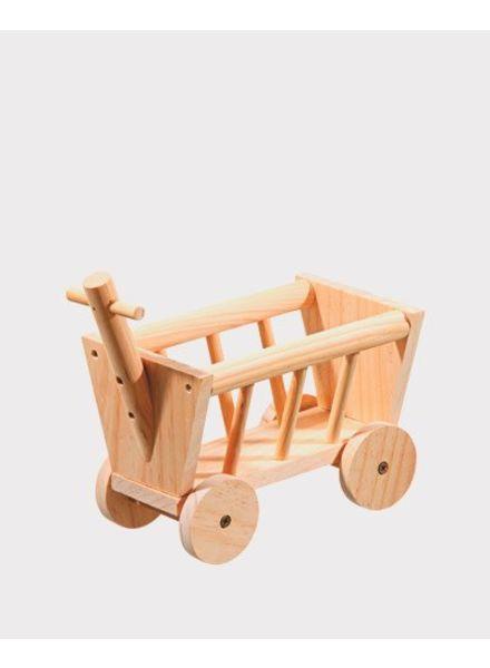 Bolderwagen voor hooi