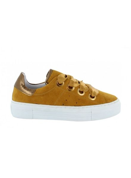 TANGO Katja 15-g yellow Suede/Satin Laces/bigring - White sole