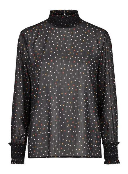 MODSTRÖM 53290 - Flurry print ls top - Love