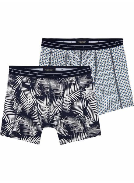 SCOTCH & SODA 142282 - Classic boxer with seasonal all-over print - Combo B - 218