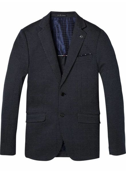 SCOTCH & SODA 142352 - Classic knitted blazer - Combo B - 218