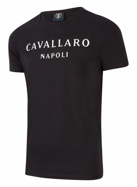 CAVALLARO Miraco Tee - Black - 90000