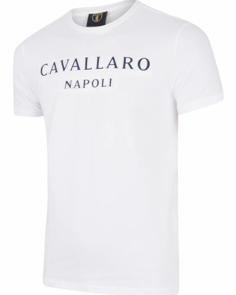 CAVALLARO Miraco Tee - White - 10000