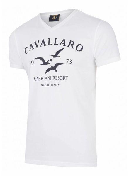 CAVALLARO Gabbiani Tee - Dark Blue - 63000