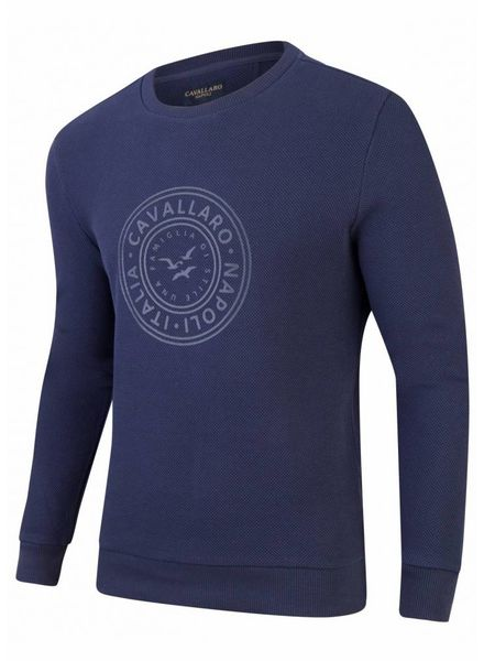 CAVALLARO Giorgio Sweat - Dark Blue  - 63000