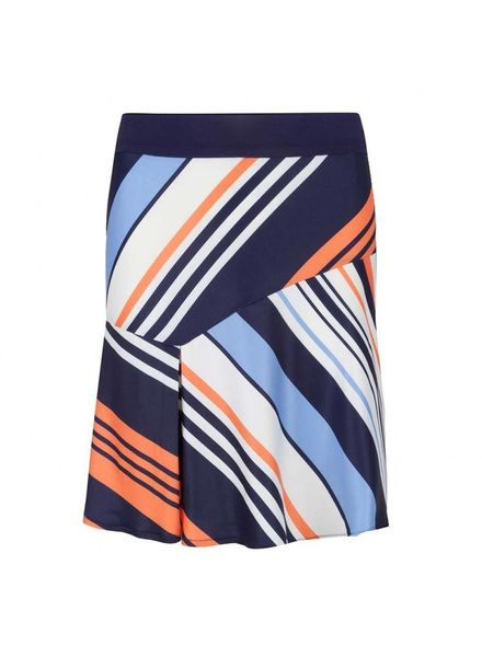 ESQUALO Skirt Stripes Multicolour