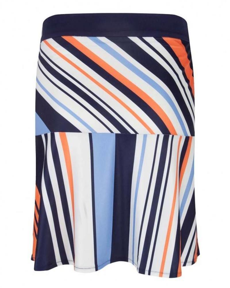 ESQUALO Skirt Stripes Multicolour