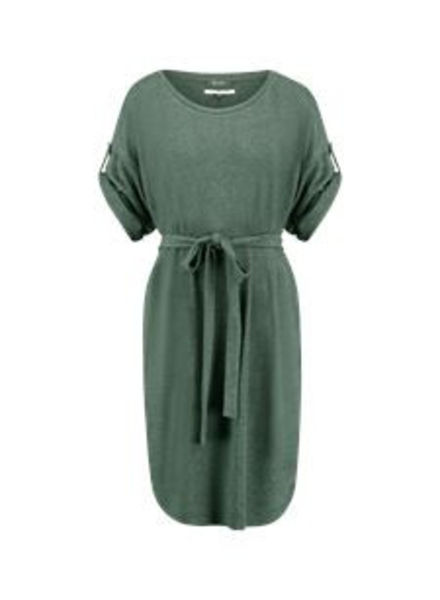 SIMPLE DAVIS - Dress - Oxydized Green