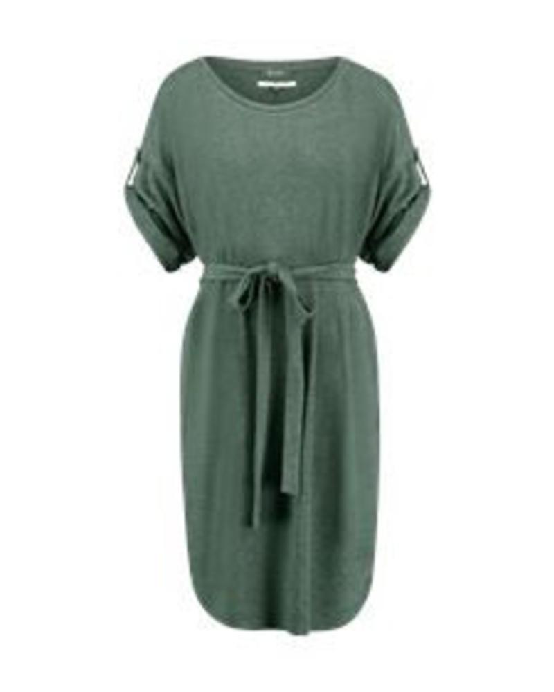 SIMPLE DAVIS - Dress - Oxydized Green