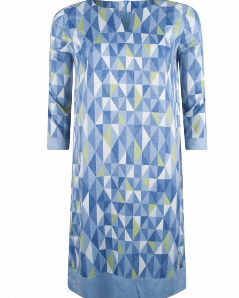 CAVALLARO Grafica Dress - Medium Blue - 62513