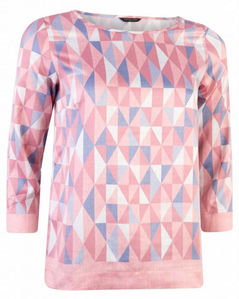 CAVALLARO Grafica Top - Light Pink - 44623