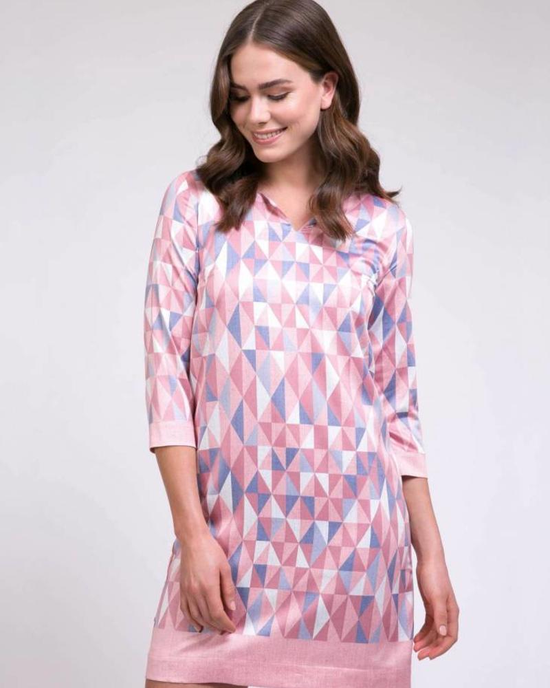 CAVALLARO Grafica Dress - Light Pink - 44623