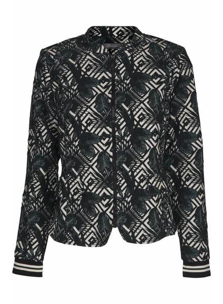 GEISHA Jacket 85061 - 000999 - black/offwhite