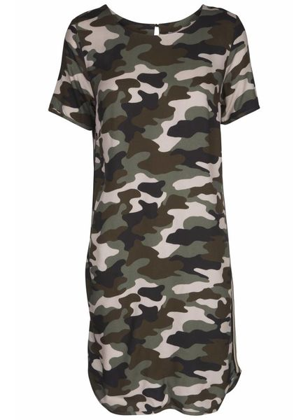 GEISHA Dress 87093 - 000550 - army combi
