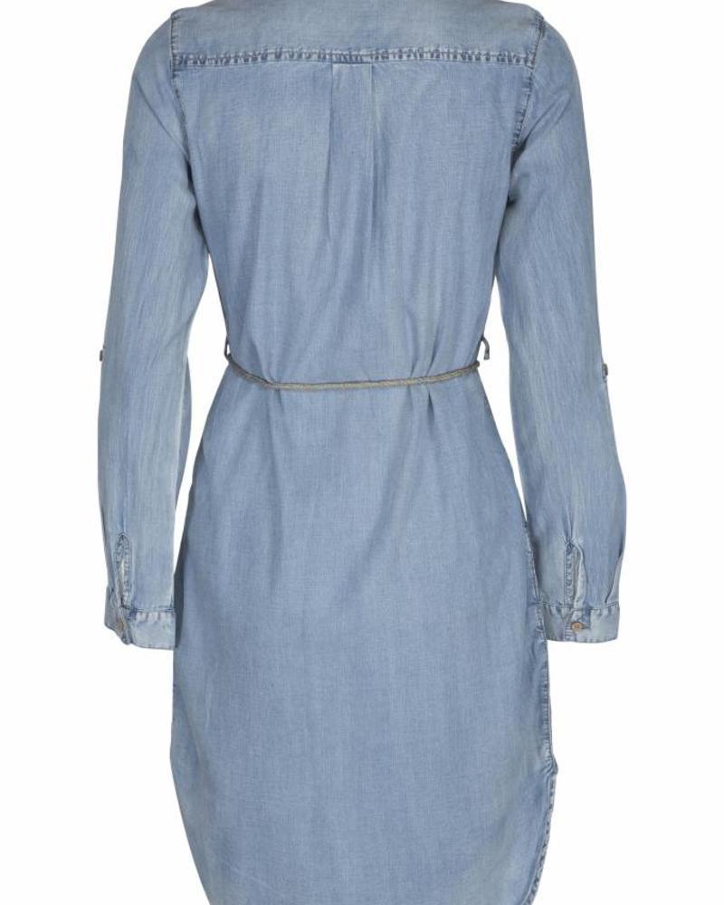 GEISHA Dress 87016 - 000830 - bleached denim
