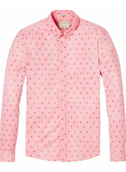 SCOTCH & SODA 142483 - REGULAR FIT- Classic oxford shirt - Combo E - 221