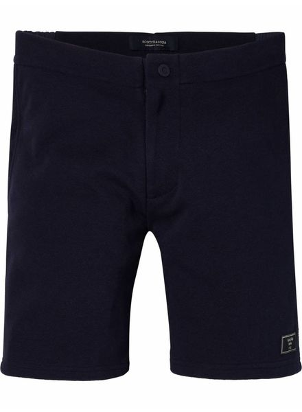 SCOTCH & SODA 142458 - Pique chino short with nylon waistband - Night - 2