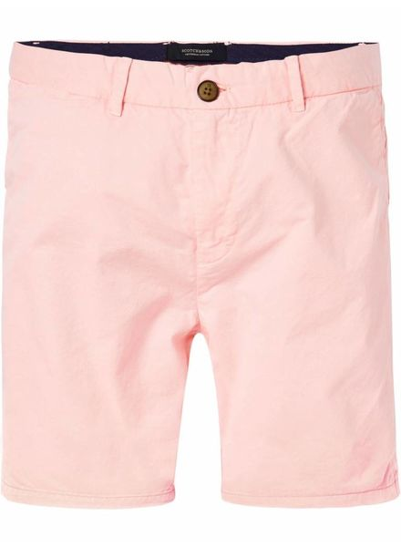SCOTCH & SODA 142423 - Classic chino shorts - Faded Fluo - 1955