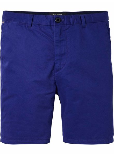 SCOTCH & SODA 142423 - Classic chino shorts - Twilight Blue - 1456